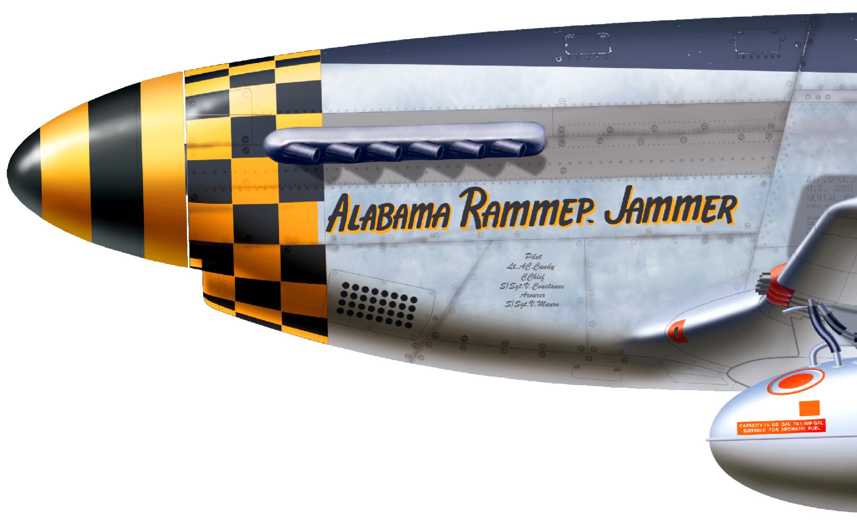 P-51D Alabama Rammer Jammer skin - ED Forums